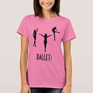 T-shirt triple de ballerine - BALLET !