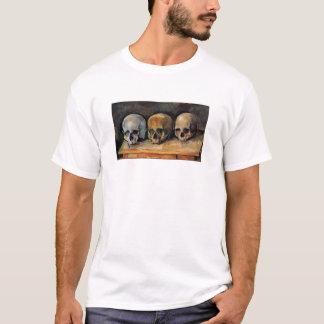 T-shirt Triplet de crâne de Cézanne