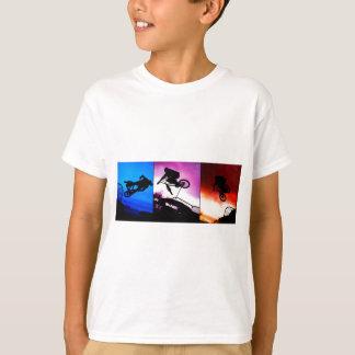 T-shirt Triptyque de BMX
