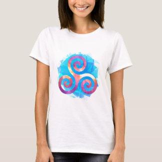 T-shirt Triskel breton lumineux