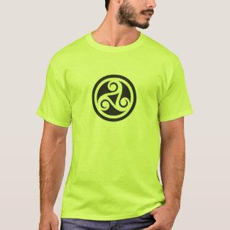 T-shirt Triskel inversé empattements