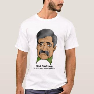 T-shirt triste de Saddam
