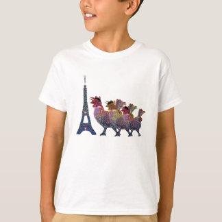 T-shirt Trois chemises françaises de poules
