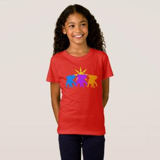 T-Shirt Trois éléphants heureux