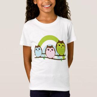 T-Shirt Trois petits hiboux