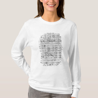 T-shirt Troisième sonate pour le piano et le violon