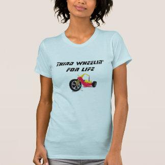 T-shirt Troisième Wheelin pendant la vie