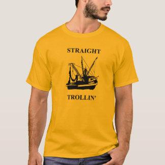 T-shirt Trollin droit