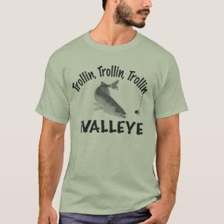 T-SHIRT TROLLIN, TROLLIN, BROCHETS VAIRONS DE TROLLIN