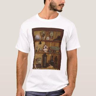 T-shirt Trompe - l ' oeil avec une statuette de Hercule