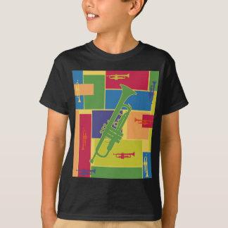 T-shirt Trompette Colorblocks