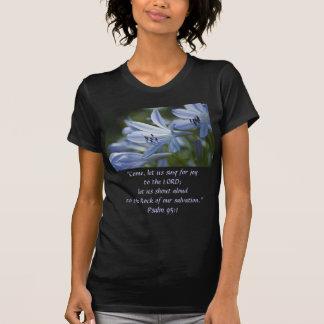 T-shirt Trompettes bleues de Hosta