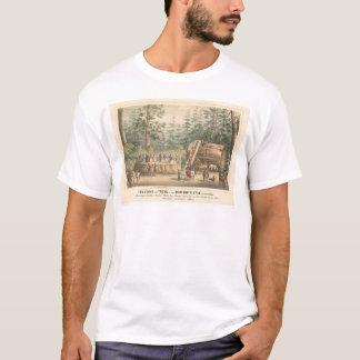 T-shirt Tronçon de l'arbre gigantesque de Calaveras
