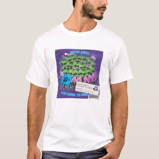 T-shirt Trop bu pour se dégonfler