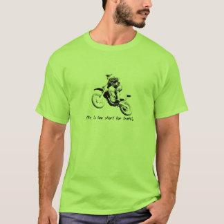 T-shirt Trop court pour le trafic - chemise de motocross