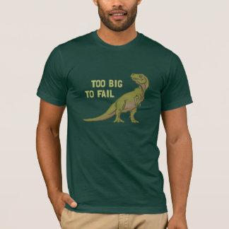 T-shirt Trop grand pour échouer la pièce en t de Dino