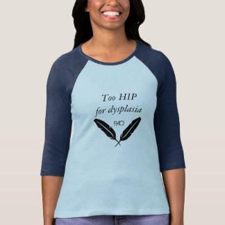 T-shirt Trop HIP pour la pièce en t PAO de base-ball de