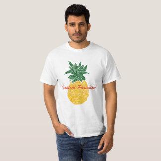 T-shirt tropical d'ananas de paradis