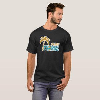 T-shirt Tropiques de silex rétros