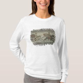 T-shirt Trottoir de mosaïque de la villa romaine au bas