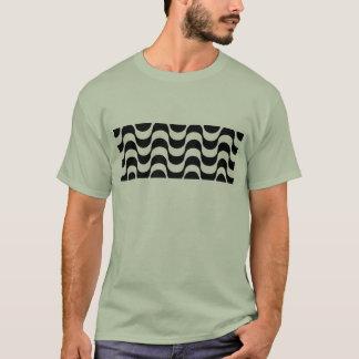 T-shirt Trottoir noir et blanc de Copacabana