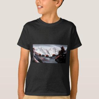 T-shirt Troupeau de yaks Himalaya de montagne