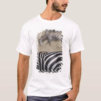 T-shirt Troupeau de zèbres frôlant, réservation de jeu de