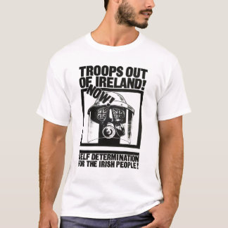 T-shirt Troupes britanniques hors de l'Irlande
