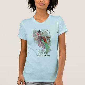 T-shirt Trouvez la chemise de déesse