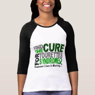 T-shirt Trouvez le syndrome de la Tourette de traitement