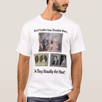 T-shirt Tsar Nicholas et tsarine Alexandra, le bout C…