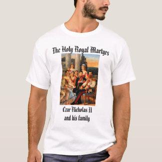 T-shirt Tsar Nicholas II et famille