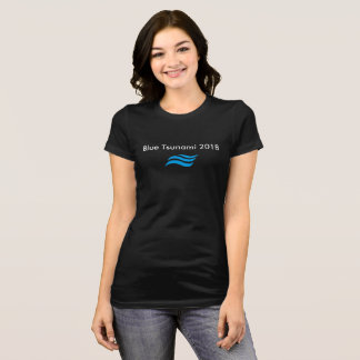 T-shirt Tsunami bleu
