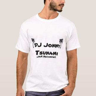 T-shirt Tsunami du DJ Jonny