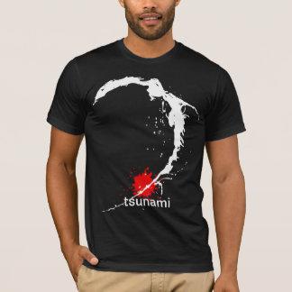 T-shirt Tsunami du Japon