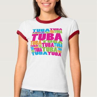 T-shirt Tuba coloré