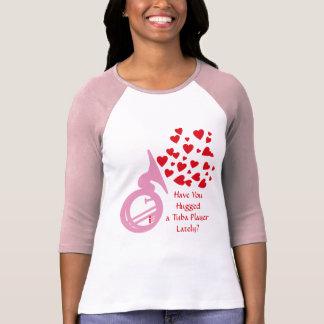 T-shirt Tuba de coeurs