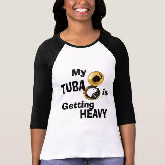 T-shirt Tuba lourd