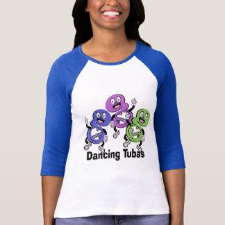 T-shirt Tubas de danse