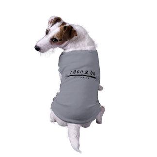 T-shirt Tuch et vont réservoir de chien de forme physique