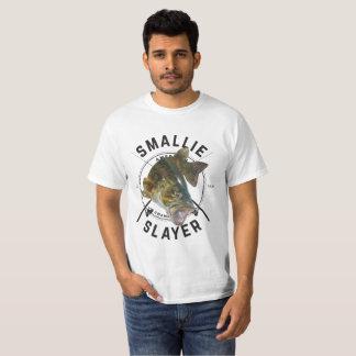 T-shirt Tueur de Smallie - chemise de pêche au bar de