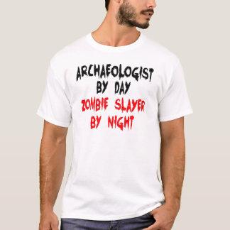 T-shirt Tueur de zombi d'archéologue