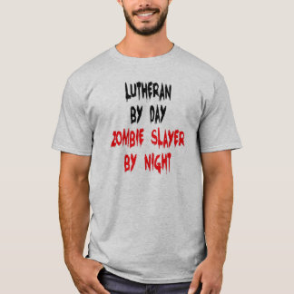 T-shirt Tueur luthérien de zombi