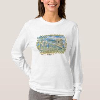 T-shirt Tuile dépeignant l'histoire de Noé