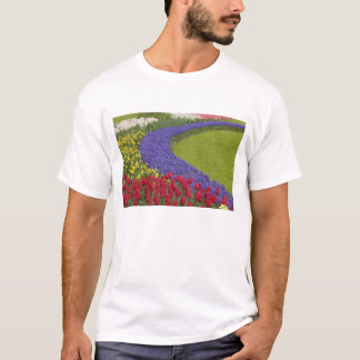 T-shirt Tulipe et jardin de jacinthe et de jonquille de
