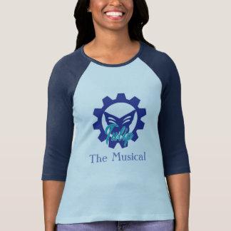 T-shirt Tulipe : La chemise musicale (maison de théâtre