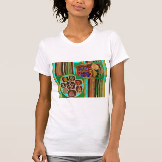 T-shirt Tunnel cosmique de Chakra de symbole curatif de