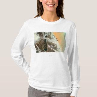 T-shirt Tunnel sur Pacifique occidental et Yukon rr