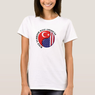 T-shirt turc de Bayan d'Américain
