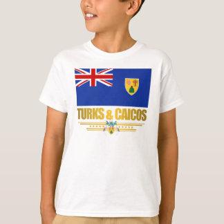 T-shirt Turcs et habillement de fierté de la Caïques